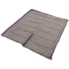 Outwell Contour Lux Sleeping Bag Eggplant Purple